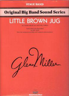 Little Brown Jug–Glenn Miller Stage Band Sheetmusic 1967