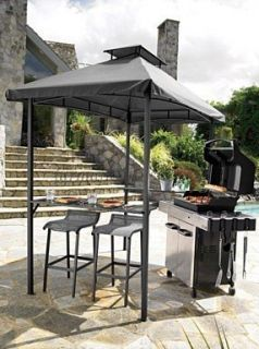 Living Accents Grill Gazebo Stools Saddle Seat 2 Pack