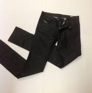 Diesel Livy biker 0065Q ~ Black Skinny Leg Jeans ~ Womens SZ 30 ~ NWT