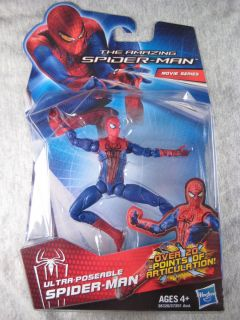 Ultra Poseable Spider Man SEALED Figure The Amazing Spider Man movie