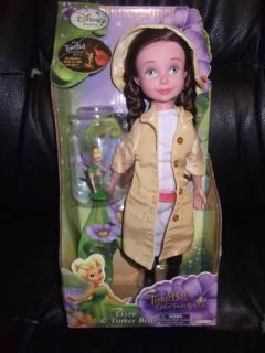 New Disney Tinkerbell Fairies Great Fairy Rescue Lizzy Doll