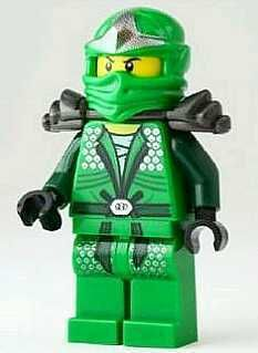 LLOYD ZX Green Ninja MINIFIG Lego NINJAGO minifigure with MASK