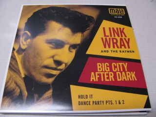 Link Wray & The Raymen Big City After Dark 2x7 Vinyl Record Store Day