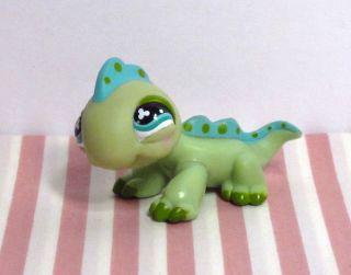 Littlest Pet Shop Green Iguana Lizard 499 Hasbro Toy Figure LPS