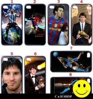 Lionel Messi Barcelona Argentina iPhone 4 4S Case Casing