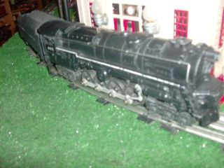 TRAINS POSTWAR 682 6 8 6 DIE CAST STEAM TURBINE LOCO 2046W T VERY NICE