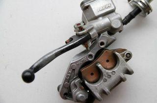 Honda XR400 XR400R Front Brake Master Cylinder Lever Brake Caliper