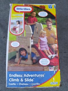 Little Tikes Endless Adventures Climb and Slide Castle Used