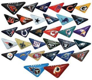 2012 FULL SET OF 32 TEAMS NFL LOGO TABLE TOP FLICKER FOOTBALLS AFC NFC