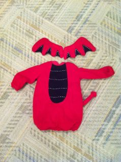 Pottery Barn Kids Little Devil Costume 6 12 Months