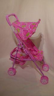 Lollipop Baby Doll Stroller Pink New