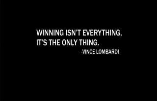 Vince Lombardi Winning IsnT Everything Quote Shirt Inspriational