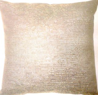 Cushion Pillow Cover Osborne Little Fabric Silver Thread Ideal Xmas