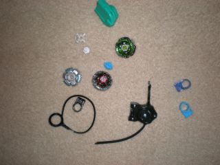 Beyblades Lot Rock Leone Lone Wolf Booster Kit