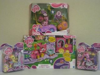 My Little Pony Friendship Pinkie Pie Remote Control Car Lot Fluttershy