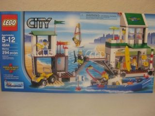 Lego City 4644 Marina w 5 Minifigures New Factory SEALED Box