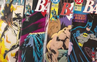 Lot Of 10 Batman DC All Near Mint Mint Silver Age Comic Book Superhero