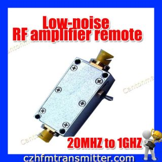 Remote Control Receiver Relay LNA 20MHz 1GHz 20dB Gain
