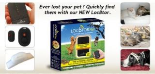 LOC8TOR Dog Cat Pet Finder Tracking Homing Device