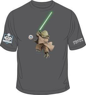 Los Angeles Dodgers Star Wars Yoda T Shirt SGA 7 2 2012 Brand New M L