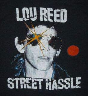 RARE Vintage 1970s 70s 1978 Lou Reed Street Hassle Arista Album