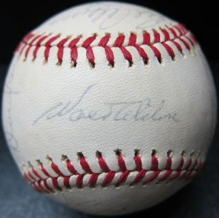 1975 Los Angeles Dodgers Team Signed Autographed Ball Baseball Alston
