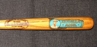 superb 1921 GEORGE SISLER ST LOUIS BROWNS H B BASEBALL DECAL BAT 97