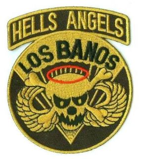 Army abn Airborne 502 Inf Los Banos Skull Angels Patch