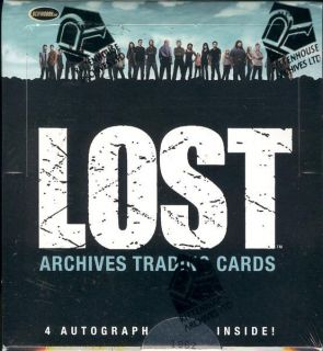 Lost Archives Trading Cards 12 Box Case Rittenhouse BLOWOUT Cards