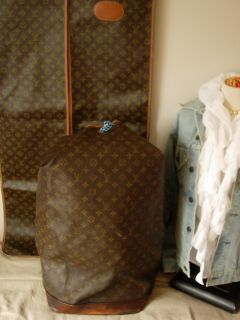 Auth Vintage Louis Vuitton Sac Marin Bag Tote Suitcase Keepall Luggage