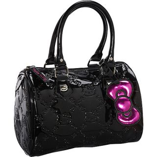 Loungefly Hello Kitty Mini Black Embossed City Bag