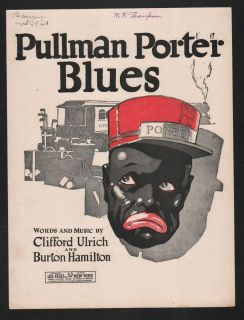 Pullman Porter Blues A Light Brown Blues 1921