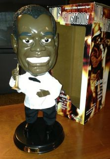 Louis Armstrong Satchmo Animated Singing Doll Collectible