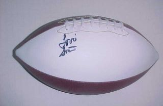 Lovie Smith Signed Football Chicago Bears NFL