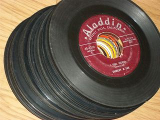 Soul Blues oldies 45 Record Lot Collection 1950s 1960S