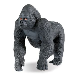 Safari 282829 Lowland Gorilla Male Toy Collectible Ape