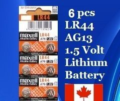 LR44 AG13 RW82 D357 303 Cell Coin Button replace Battery Batteries