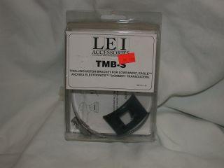 Lowrance TMB s Skimmer Transducer Trolling Motor Bracket P N 51 45