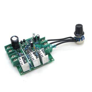 12V 48V 30A DC Motor Speed Control PWM Adjuster Controller 36V 24V Max