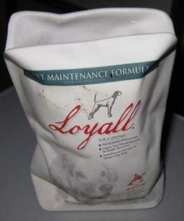 Loyall Dog Food Ceramic Bag Advertising Item