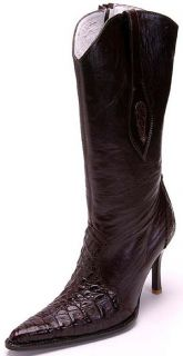Leather Los Altos Brown Womens Cowboy Boots Western Classics