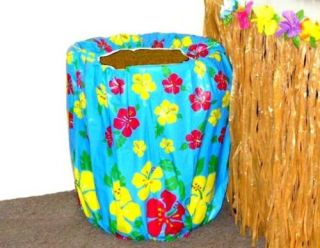 Luau Garbage Trash Can Cover Wedding Party Supplies