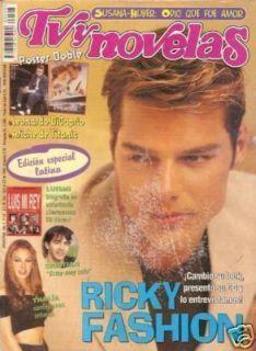 Ricky Martin Thalia Luis Miguel RARE Magazine 1998