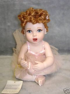 Lucille Ball I Love Lucy Frankin Mint Ballet Baby Doll New in Box