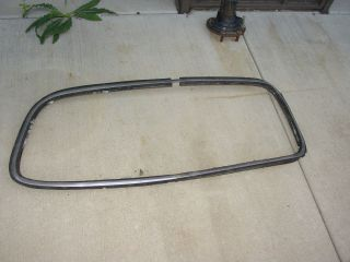 1950 Ford Four Door Rear Window rim and Gaske