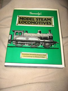 Greenlys Model Steam Locomotives Book Mint Condition