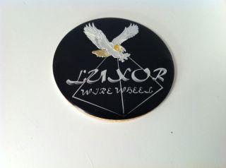 Luxor Wire Wheel Center Cap Sticker