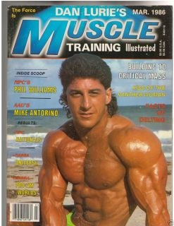 Muscle Training Dan Lurie Bodybuilding Fitness Magazine Pat Lanzillo 3