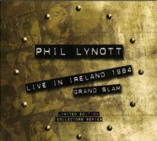 Phil Lynott Live in Ireland 1984 Grand Slam New UK CD Video CD Thin
