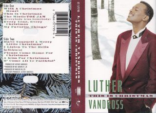this is christmas luther vandross cassette 1995 074645779546 - Luther Vandross Christmas